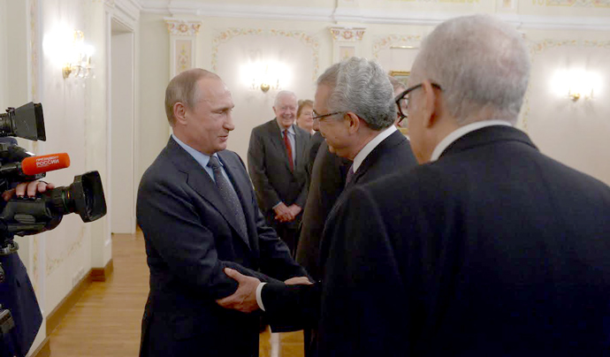 Zedillo, Putin meet